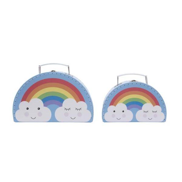 koffertje regenboog wolkje (sass&belle)