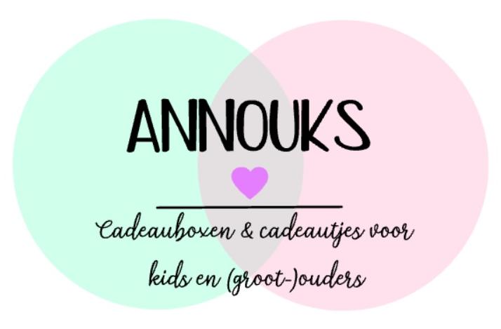 Logo annouks cadeauboxen en cadeautjes voor kids en (groot-)ouders