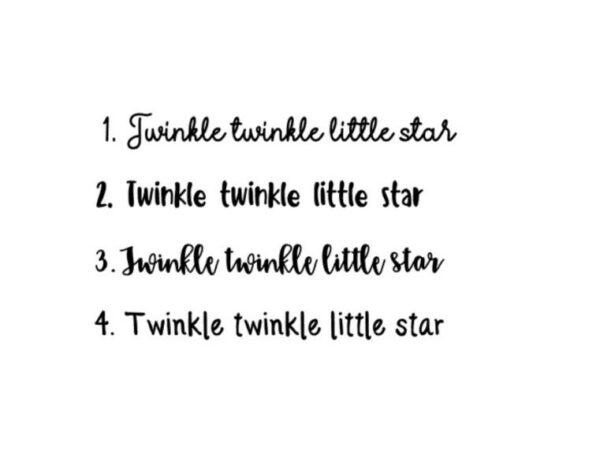 Annouks Sticker twinkle twinkle little star