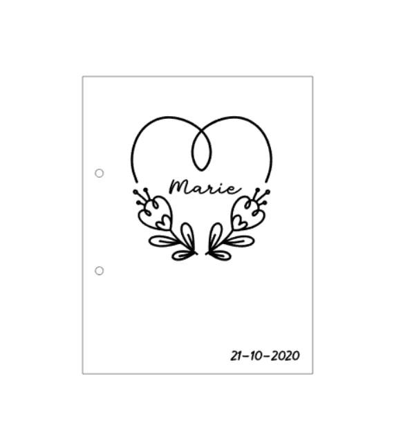 Geboortebundel hart